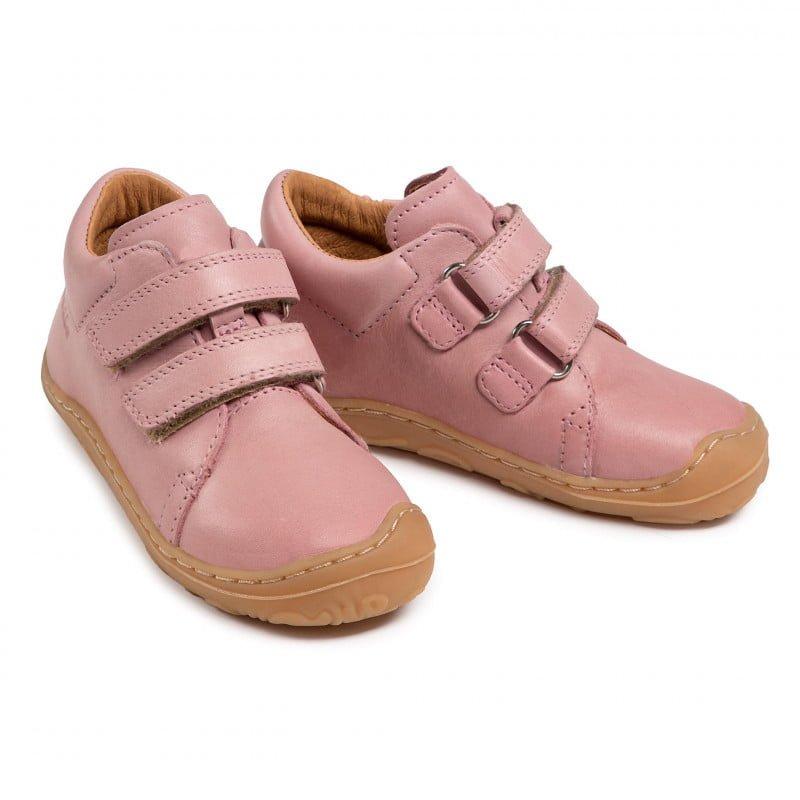 Pantofi din piele cu talpă extra flexibilă Froddo Pink 5