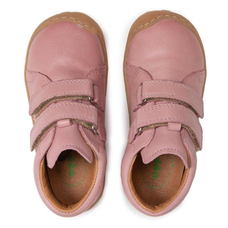 Pantofi din piele cu talpă extra flexibilă Froddo Pink 6