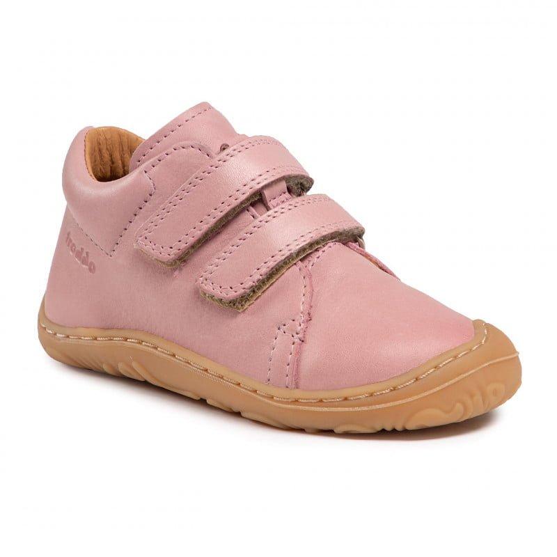 Pantofi din piele cu talpă extra flexibilă Froddo Pink