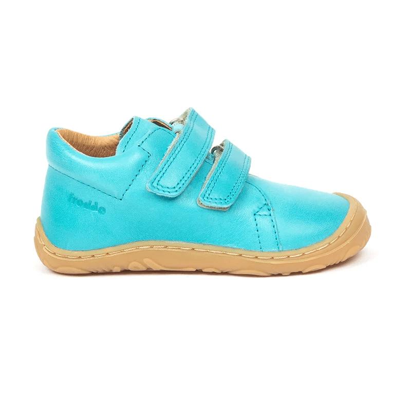 Pantofi din piele cu talpă extra flexibilă Froddo Turquoise 2