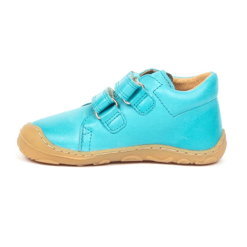 Pantofi din piele cu talpă extra flexibilă Froddo Turquoise 3