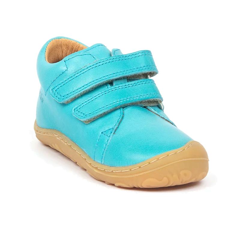 Pantofi din piele cu talpă extra flexibilă Froddo Turquoise