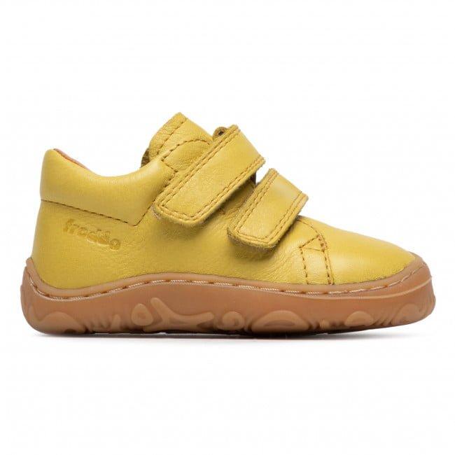 Pantofi din piele cu talpă extra flexibilă Froddo Yellow 2