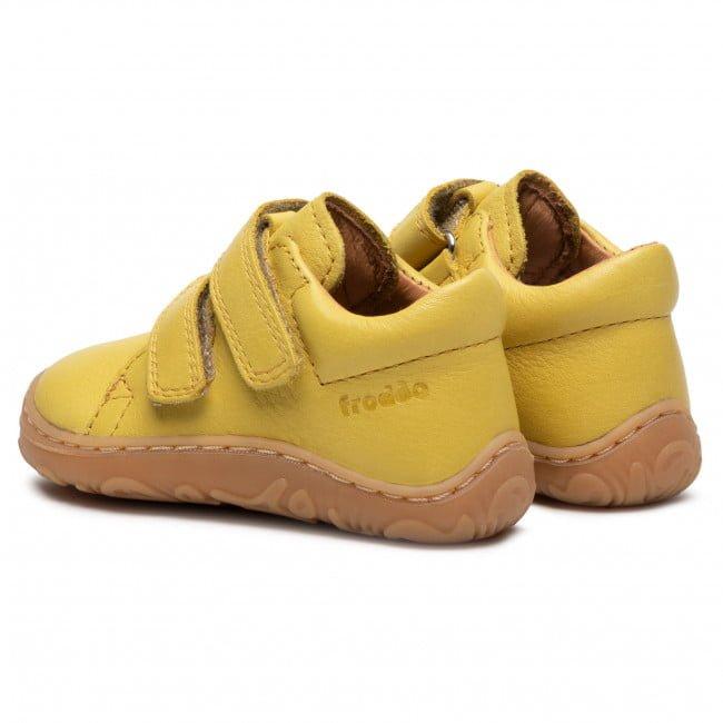 Pantofi din piele cu talpă extra flexibilă Froddo Yellow 3