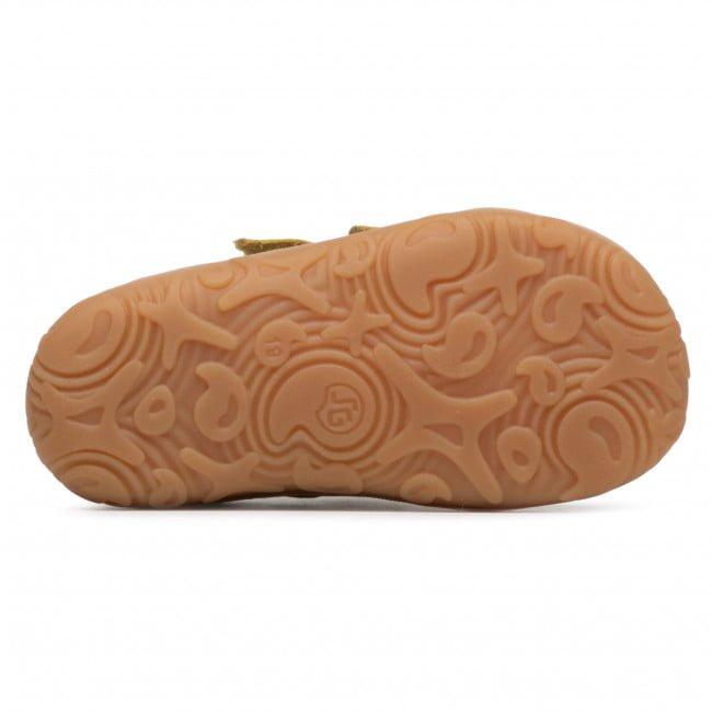 Pantofi din piele cu talpă extra flexibilă Froddo Yellow 4