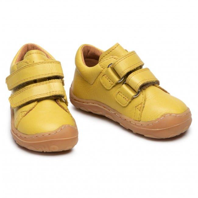 Pantofi din piele cu talpă extra flexibilă Froddo Yellow 5