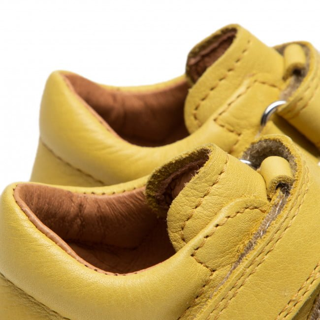 Pantofi din piele cu talpă extra flexibilă Froddo Yellow 6