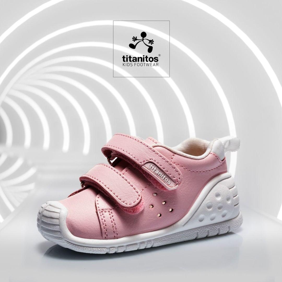 Pantofi sneakers din piele naturală pentru copii cu talpă flexibilă Kevin Titanitos