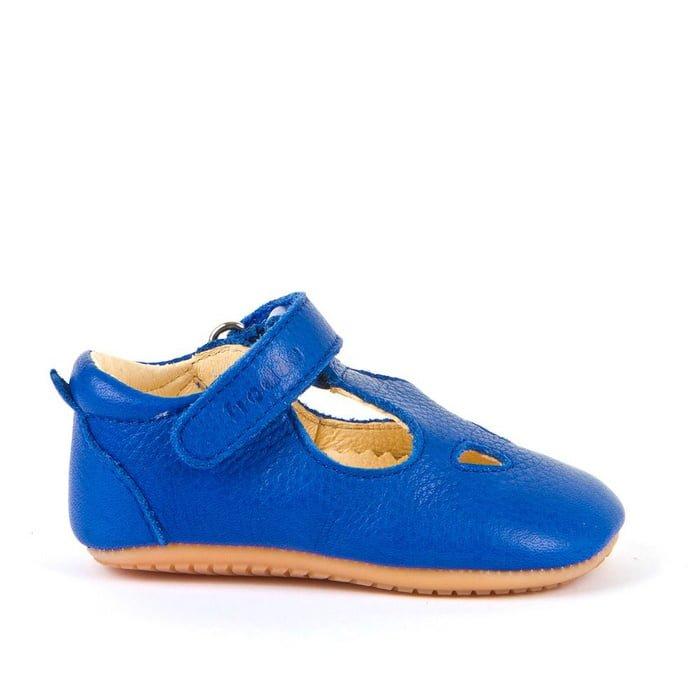 Sandale barefoot din piele blue electric Froddo