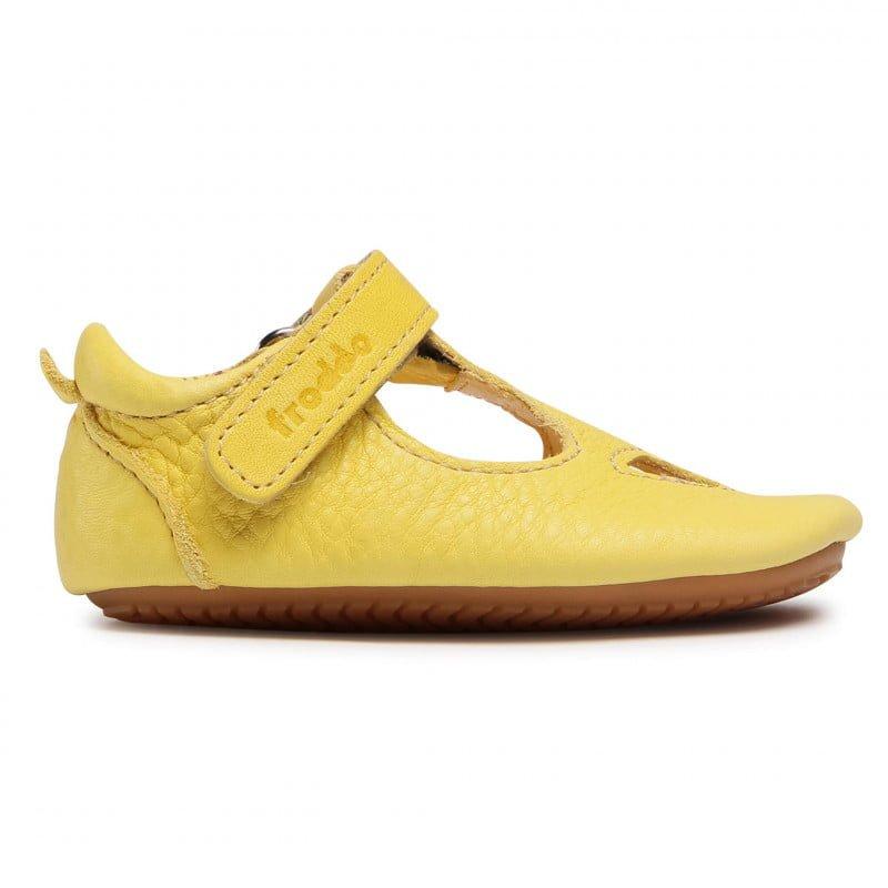 Sandale barefoot din piele yellow Froddo 2
