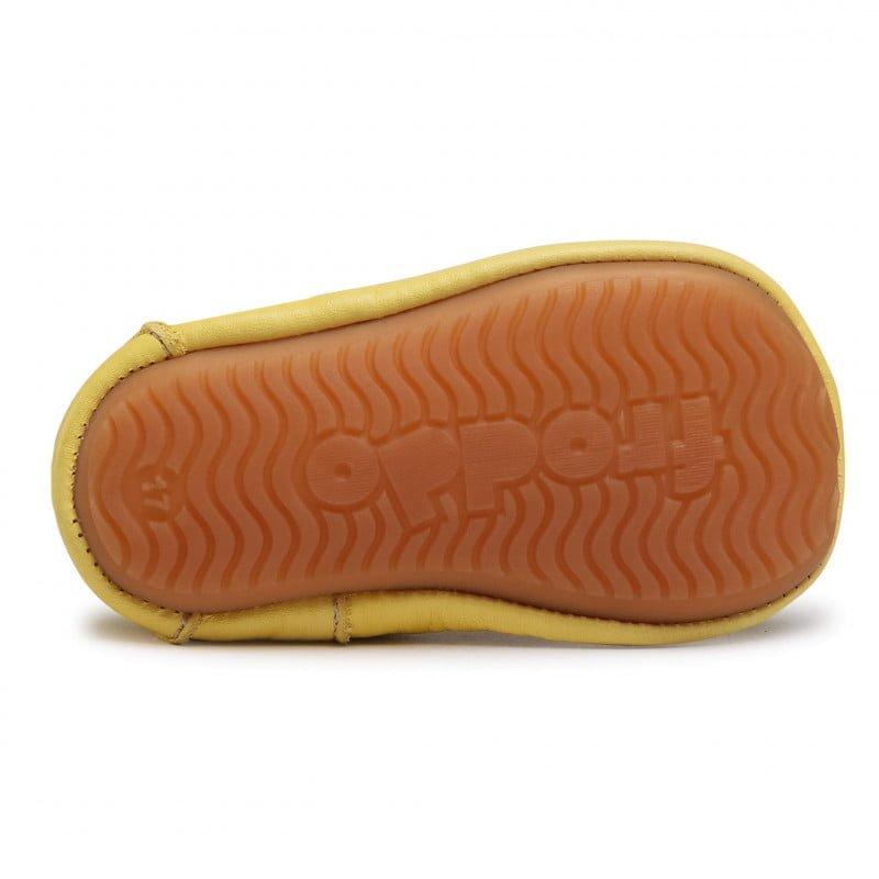 Sandale barefoot din piele yellow Froddo 4
