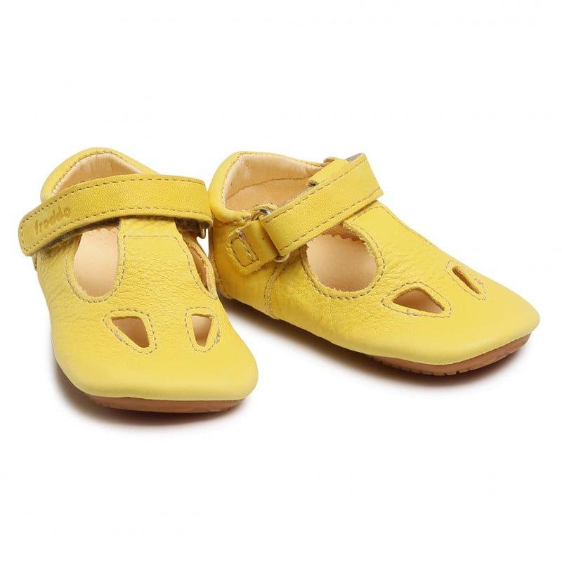 Sandale barefoot din piele yellow Froddo 5