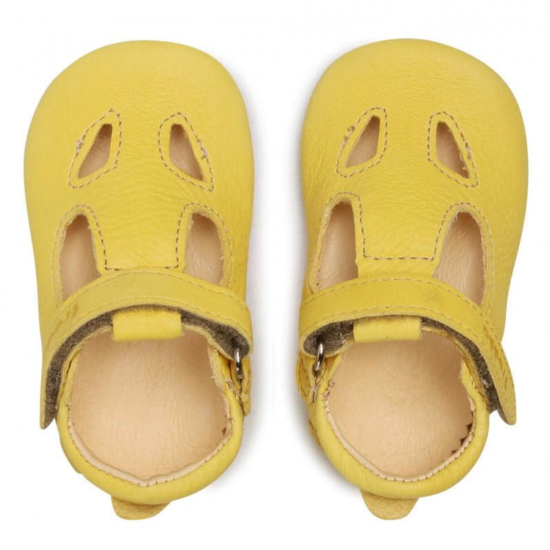 Sandale barefoot din piele yellow Froddo 6