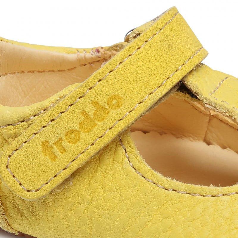 Sandale barefoot din piele yellow Froddo 7