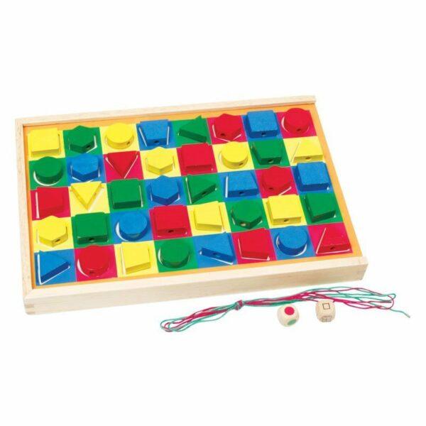 Colorama din lemn joc educativ Viga