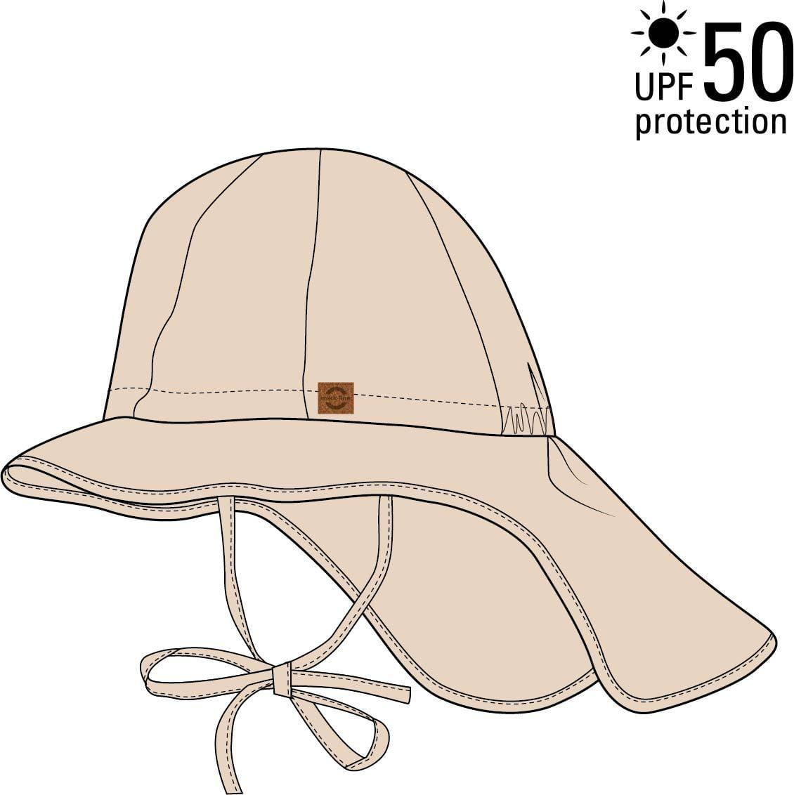 Pălărie de soare cu boruri mari UV 50+ Mikk-Line