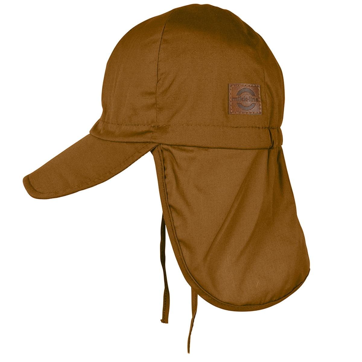 Pălărie de soare model pompier din bumbac UV 50+ Golden Brown Mikk-Line 3