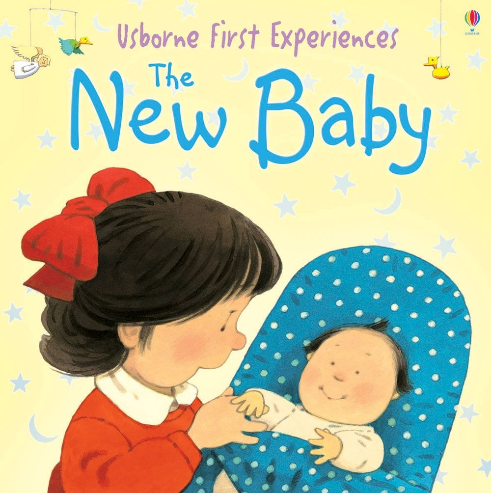 The New Baby - Anne Civardi Usborne Publishing