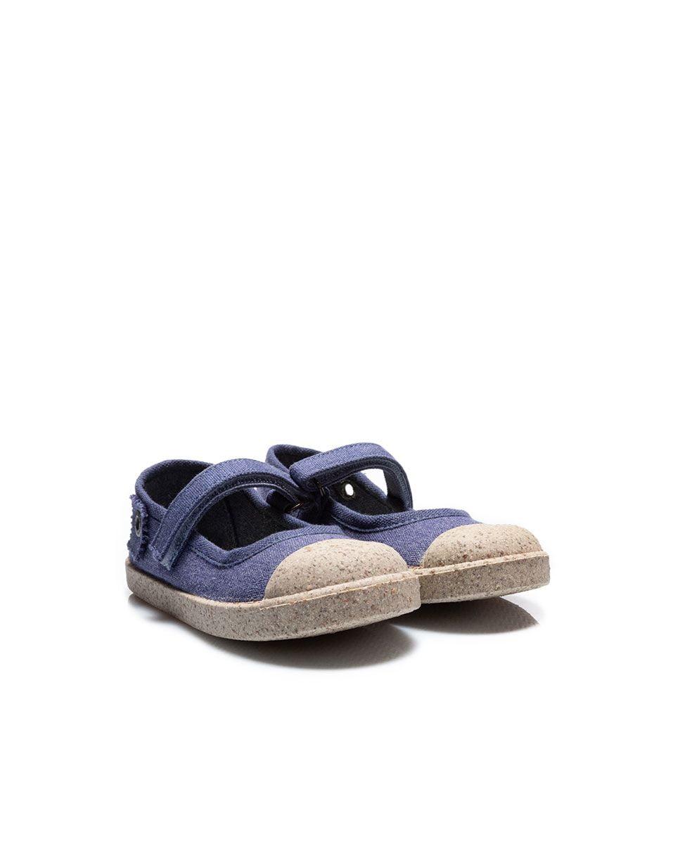 Balerini din material textil pentru copii Vanilla Jeans Titanitos 2