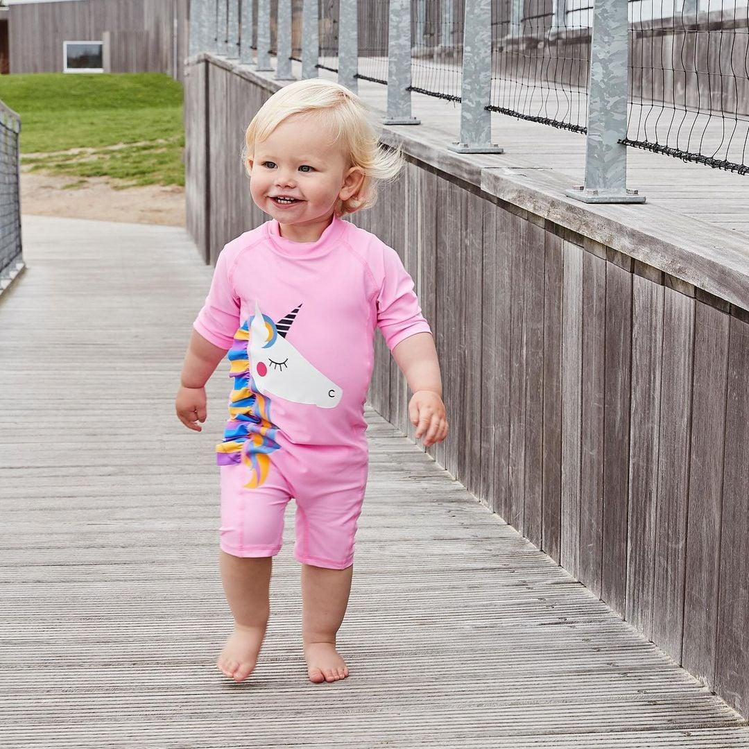 Costum de baie UPF40+ Color Kids