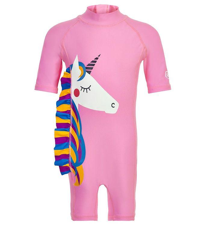 Costum de baie UPF40+ Cotton Candy Color Kids