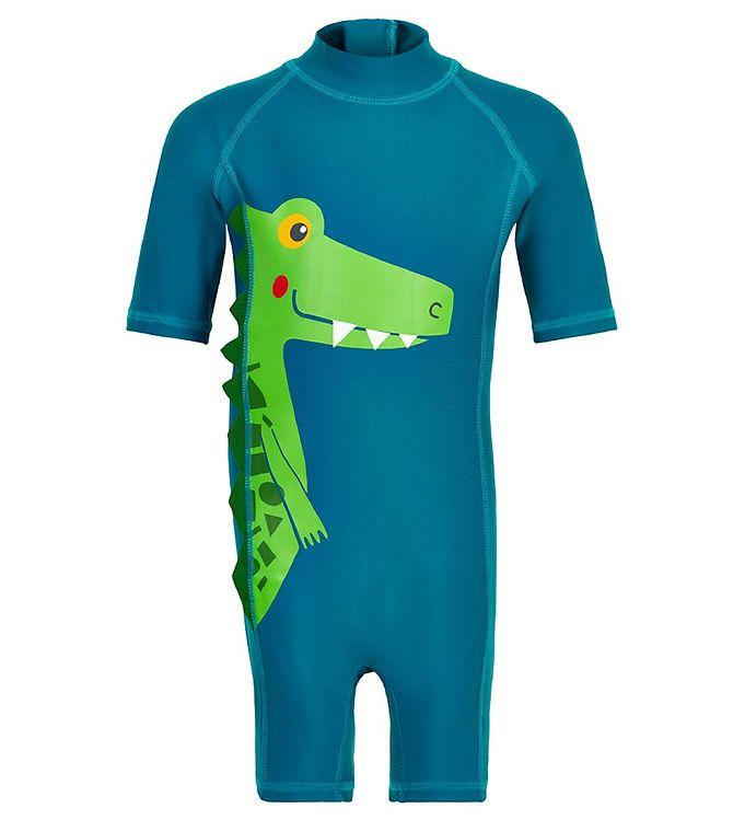Costum de baie UPF50+ Blue Sapphire Color Kids