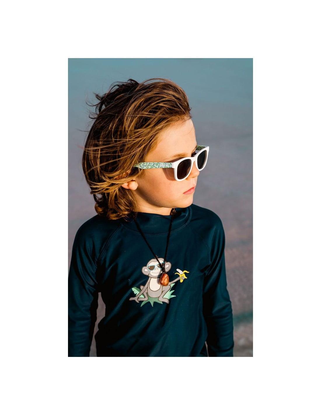 Ochelari de soare 0-2 ani J-Banz Beachcomber Green Confetti 2