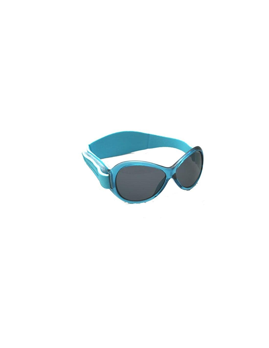 Ochelari de soare Bebe 2-5 ani Retro Oval Aqua Banz