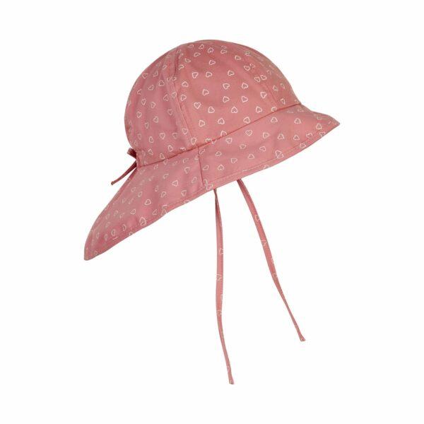 Pălărie de soare cu boruri din bumbac UV 50+ Rosette En Fant