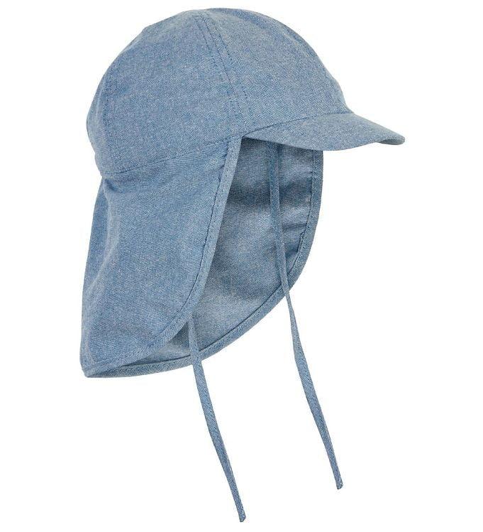 Pălărie de soare din bumbac UV 50+ Faded Denim En Fant