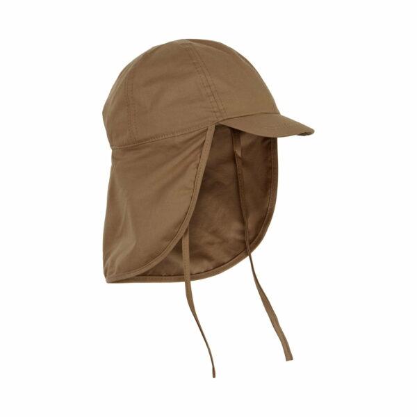 Pălărie de soare din bumbac UV 50+ Toasted Coconut En Fant