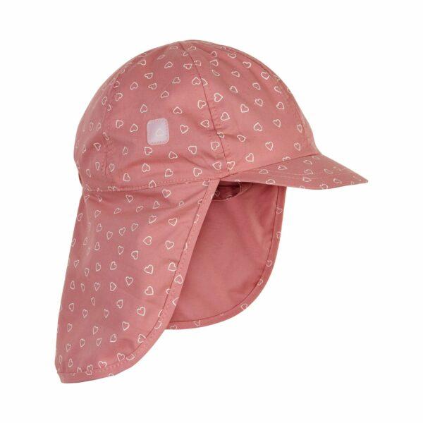 Pălărie de soare model pompier-șapcă din bumbac UV 50+ Rosette En Fant