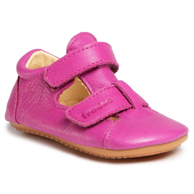 Sandale barefoot din piele fuchsia Froddo 1