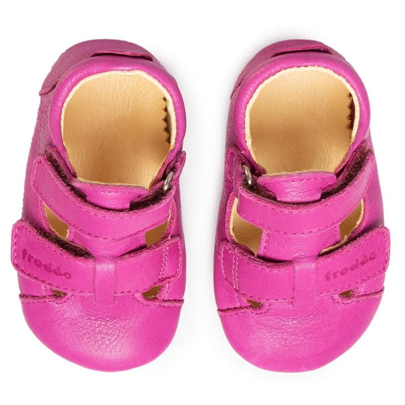 Sandale barefoot din piele fuchsia Froddo 3