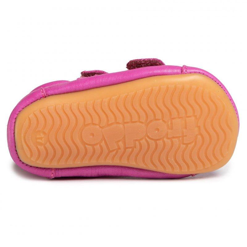 Sandale barefoot din piele fuchsia Froddo 4