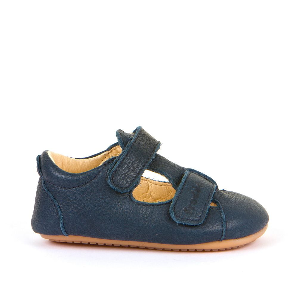 Sandale barefoot din piele navy Froddo