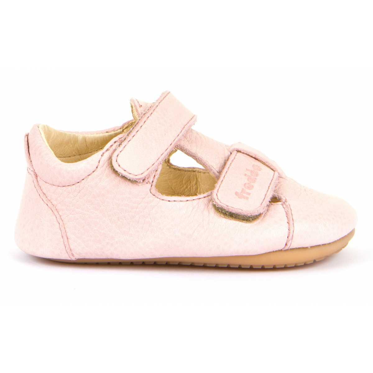 Sandale barefoot din piele pink Froddo