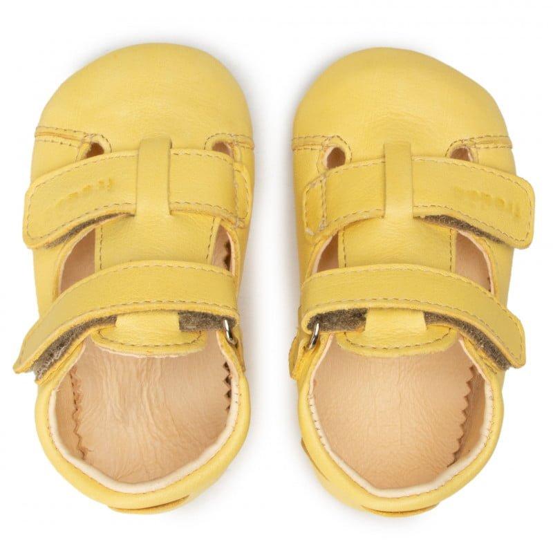 Sandale barefoot din piele yellow Froddo 1