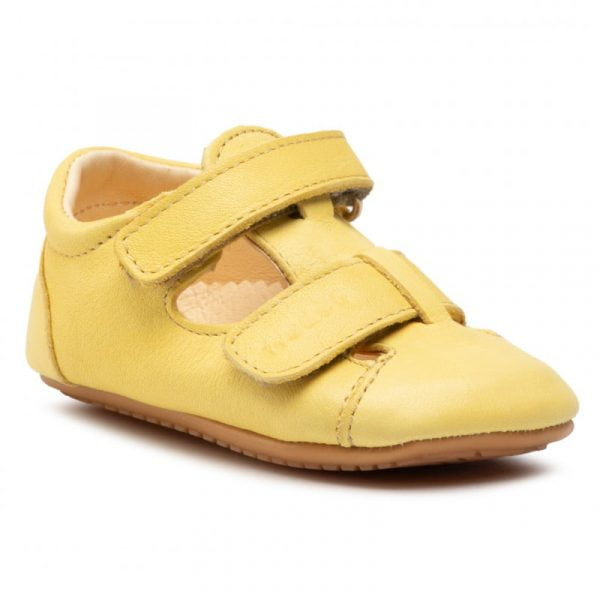 Sandale barefoot din piele yellow Froddo 3