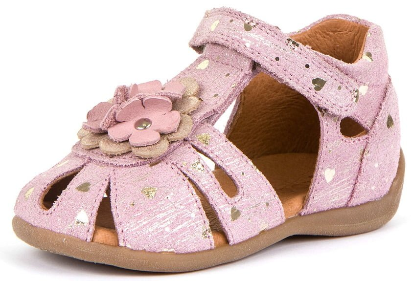 Sandale din piele Pink Froddo 2