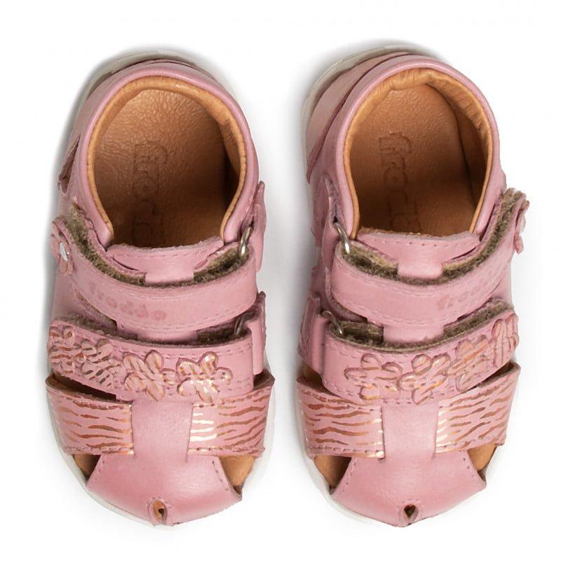Sandale din piele Pink Froddo 4