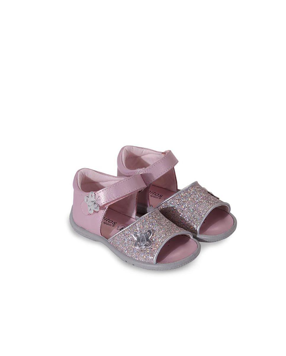 Sandale din piele naturală pentru copii Octavia Titanitos 2