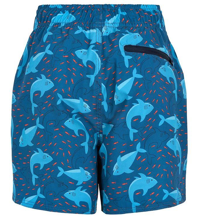 Șort de baie pentru băieți UPF30+ Blue Sapphire Color Kids 2