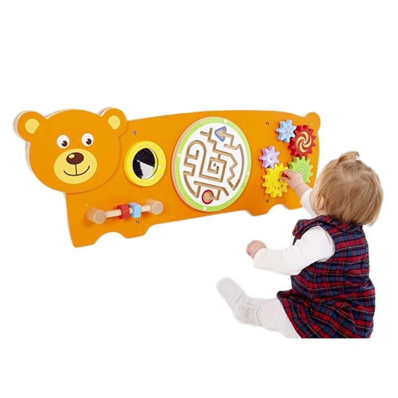 Jucărie de perete multifuncțională Ursuleț Viga 2