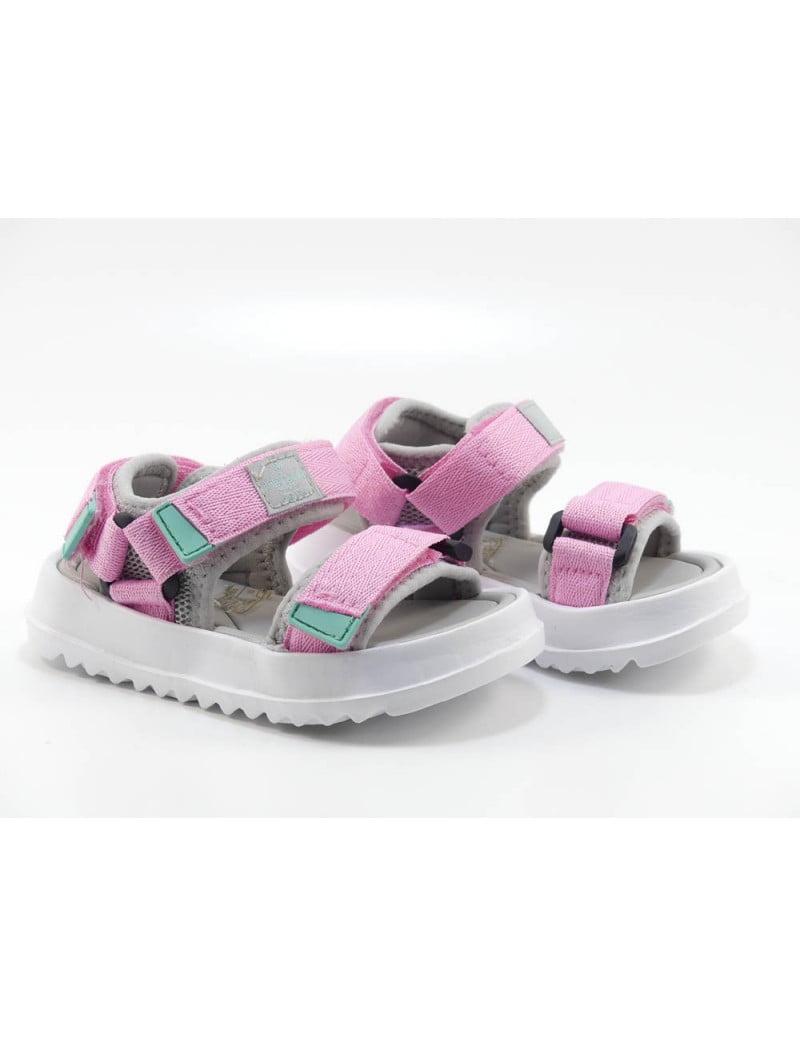 Sandale pentru copii rosa Agosto Victoria 2