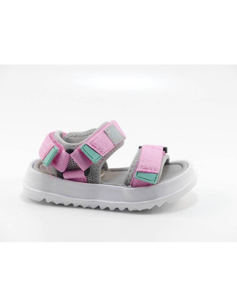 Sandale pentru copii rosa Agosto Victoria 3