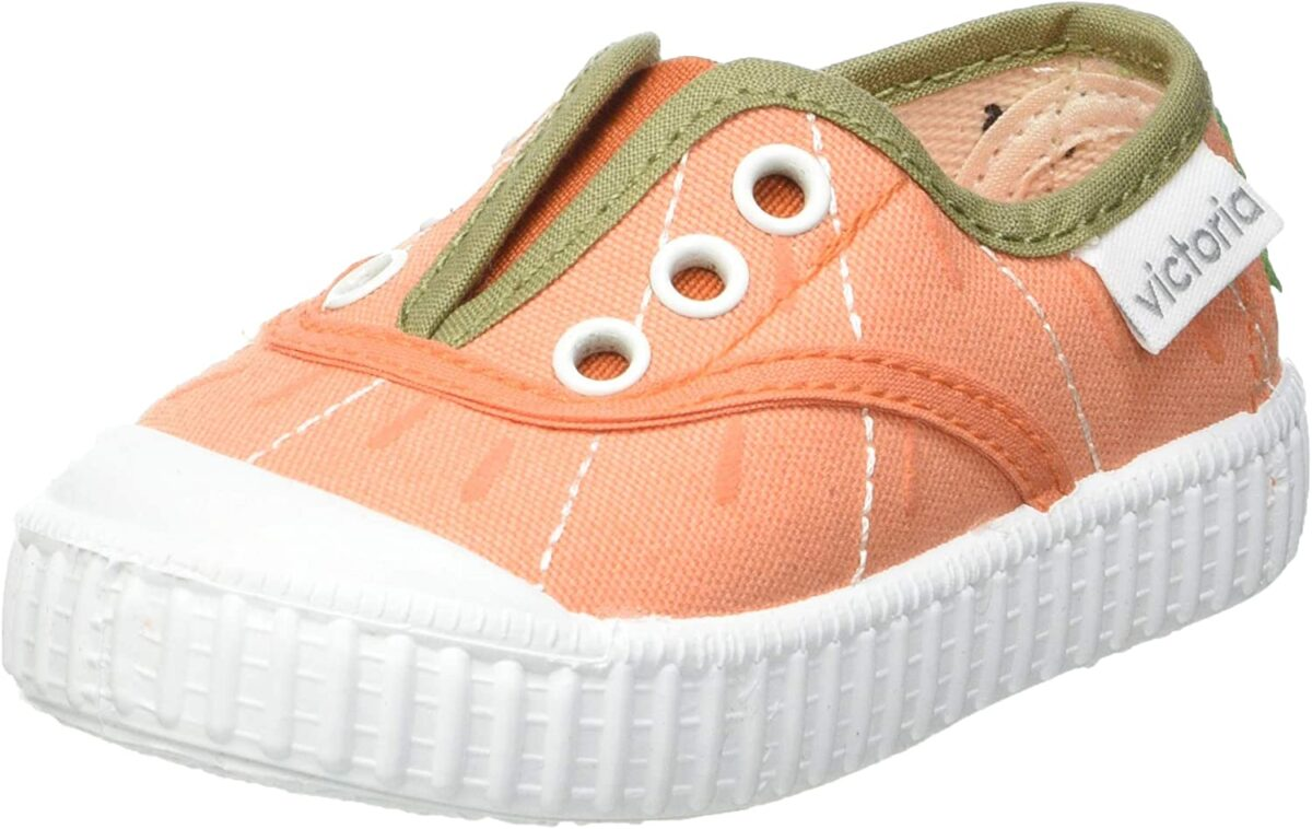 Teniși pentru copii cu elastic Naranja Victoria