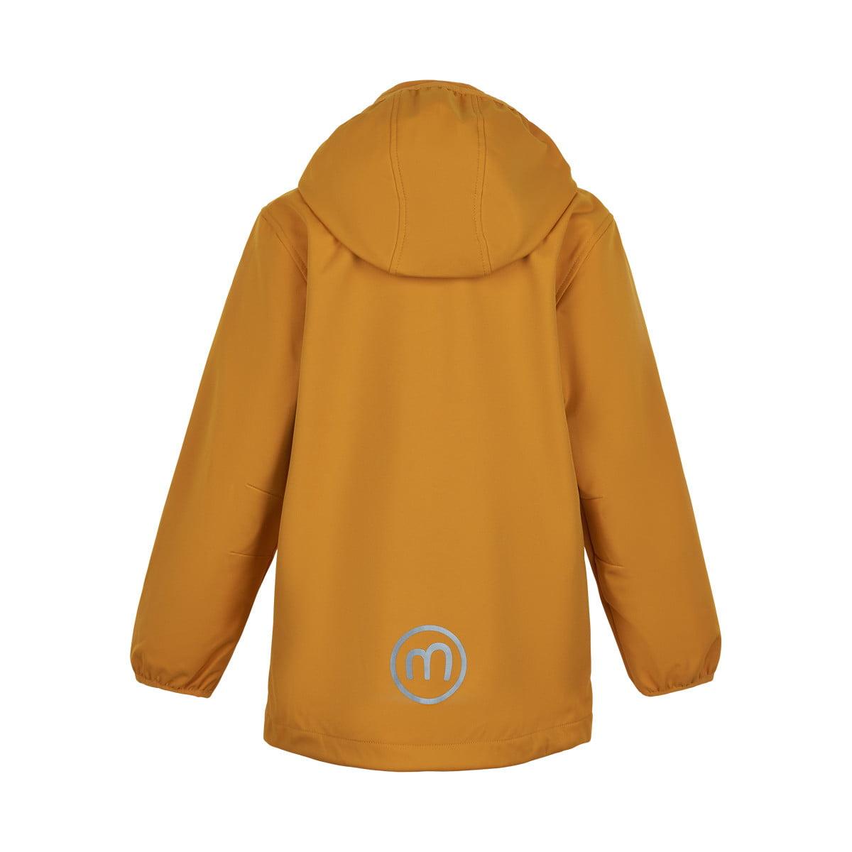 Jachetă de ploaie și vânt (impermeabilă) din softshell Golden Orange Minymo 1