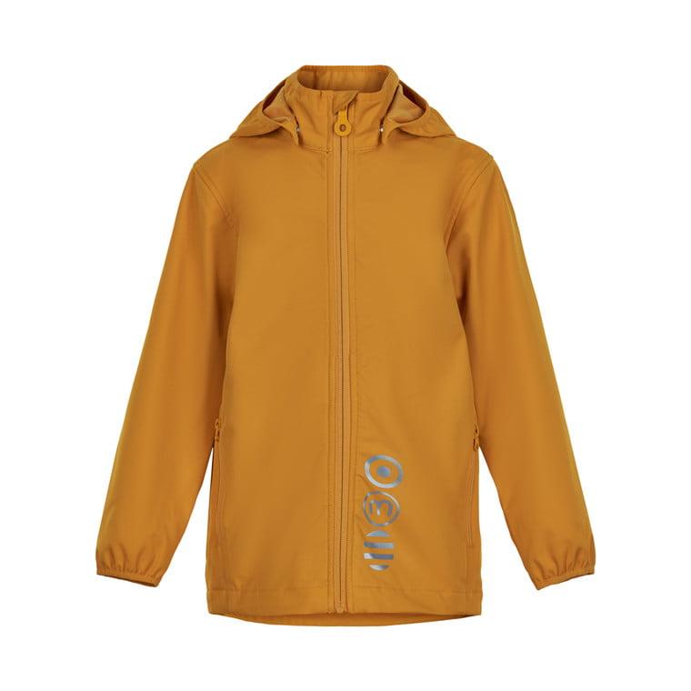 Jachetă de ploaie și vânt (impermeabilă) din softshell Golden Orange Minymo