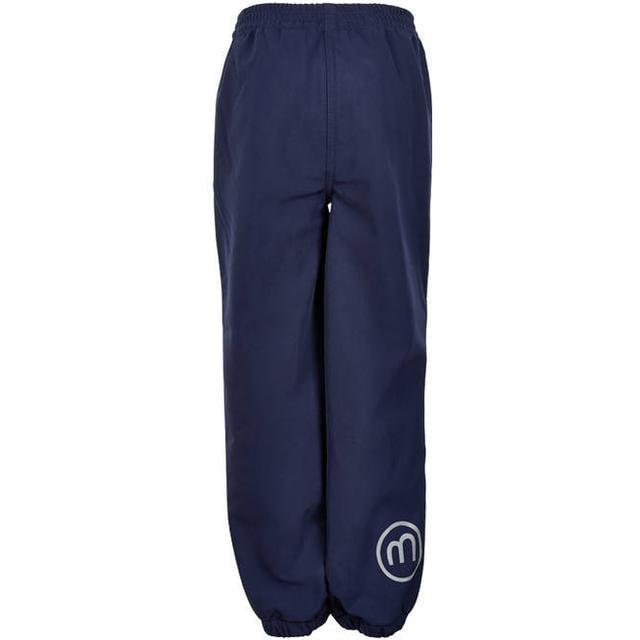 Pantaloni de ploaie și vânt (impermeabili) din softshell Dark Navy Minymo 1